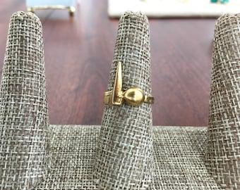 Weregild Jewelry Gold Spike Ring