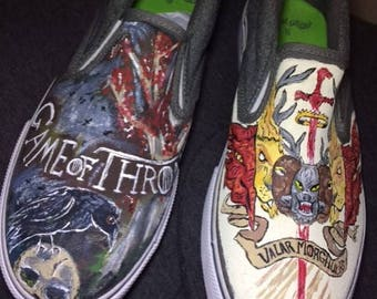 Game of Thrones Handpainted Shoes