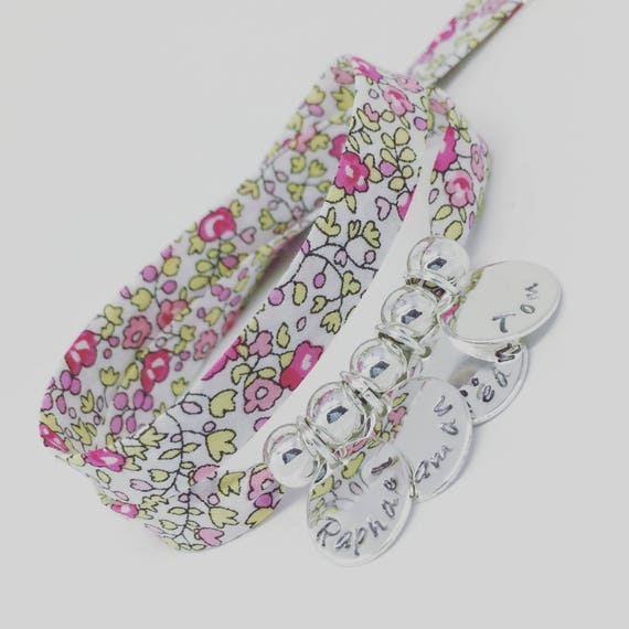★ Gift mother of mothers Bracelet GriGri XL Liberty Eloise ★ with 4 prints to choose by Palilo