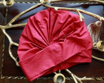 Turban De Jour - Scarlet Red