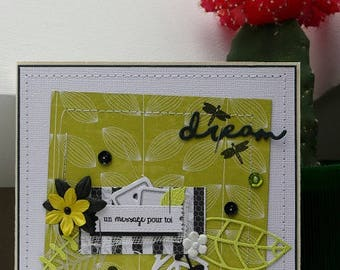 All occasion card 'a message for you'