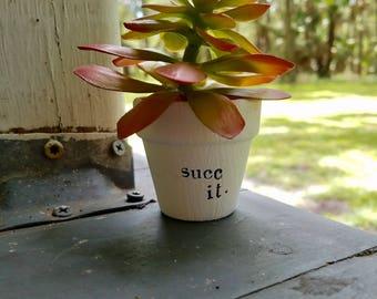 Succ It Planter Pot