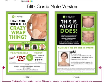 It Works! Blitz Card Male Version - Digital File