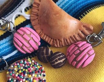 Pan Dulce keychains or earrings
