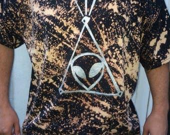 Space jesus shirt