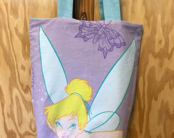 Tinker Bell reversible tote bag