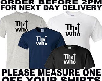 the who music t shirt all sizes upto 5xl free first class postage uk