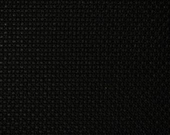 canvas aida 5.5 / 80 x 50 cm black Luc 59 cm