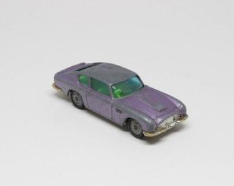 Vintage - Husky Models Aston Martin DB6 Toy Car