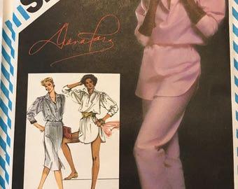 Diana Ross 1983 Sewing Pattern #5875 UNCUT Simplicity