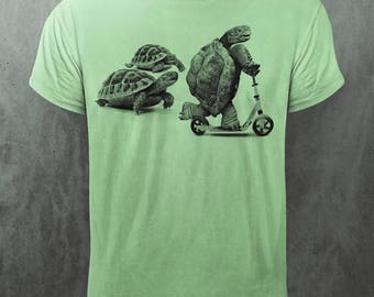 DIRTY VELVET 'Rapid Reptile' Tee | Green