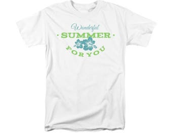 Men's T-Shirt Wonderful Summer