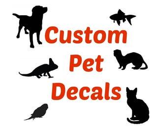 Custom Pet Decals