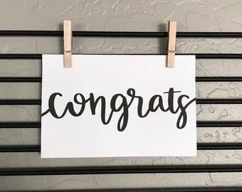 congrats baby card etsy