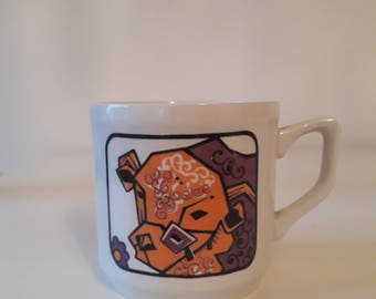 Staffordshire Ironstone 'Beefeater' Cup