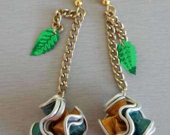 Dangle drop earrings Nep'sul