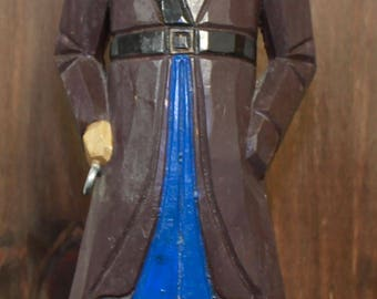"18""H Wooden Pirate Figurine"