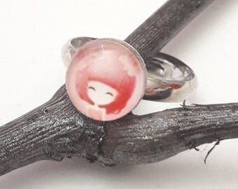 "Small ring model ""ROSY"""
