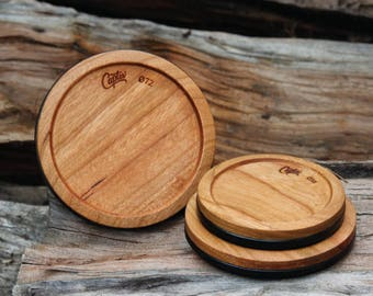The Original Wooden Lens Cap