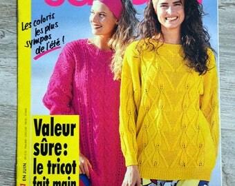 Sandra 83 - June 1991 knitting magazine