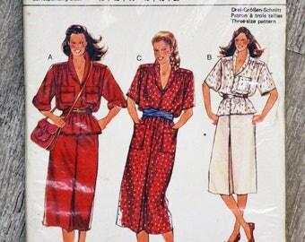 Pattern sewing Burda 9421 - set Lady (vintage)