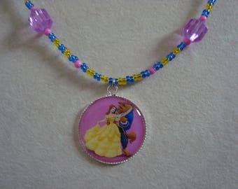 Princess necklace with its animal beads