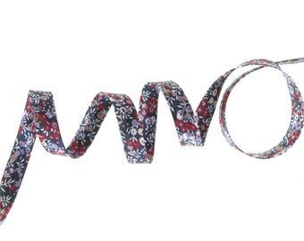 Thanks Liberty Wilmslow Berry x 50 cm Ribbon for bracelets...