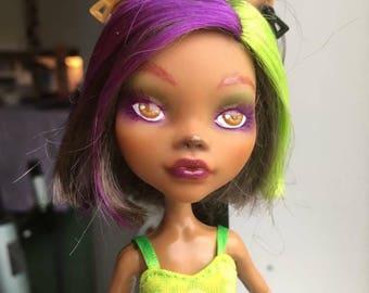 OOAK Monster High Doll Clawdeen
