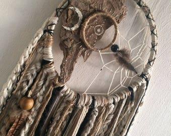 native medium ivory/stone dreamcatcher