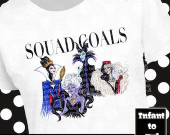 Disney Villain Shirt, Disney Villain Tank, Disney Vogue Shirt, Disney Vogue Tank, Ursula Shirt, Ursula Tank, Maleficent Shirt, Cruella Shirt