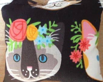 Handmade Cat Face Catnip Cat Toys