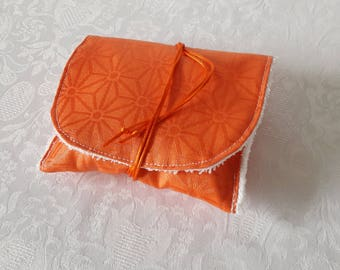 Traveling case waterproof orange SOAP to take the SOAP in bag or toiletry bag