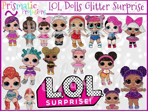 lol doll   lol dolls   lol printable   lol download   lol zipper vector brush illustrator zipper vector pack