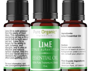 Lime Pure Essential Oil 15 ml