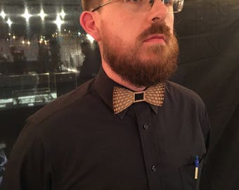 The Flexible Wooden Bow Tie