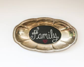 Antique Family Sign