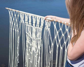 Macrame Backdrop Wall Hanging