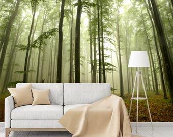 Misty Trees Mural