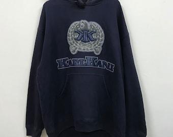 Vintage KarlKani big logo spellout full embroidery hoodie sweatshirt