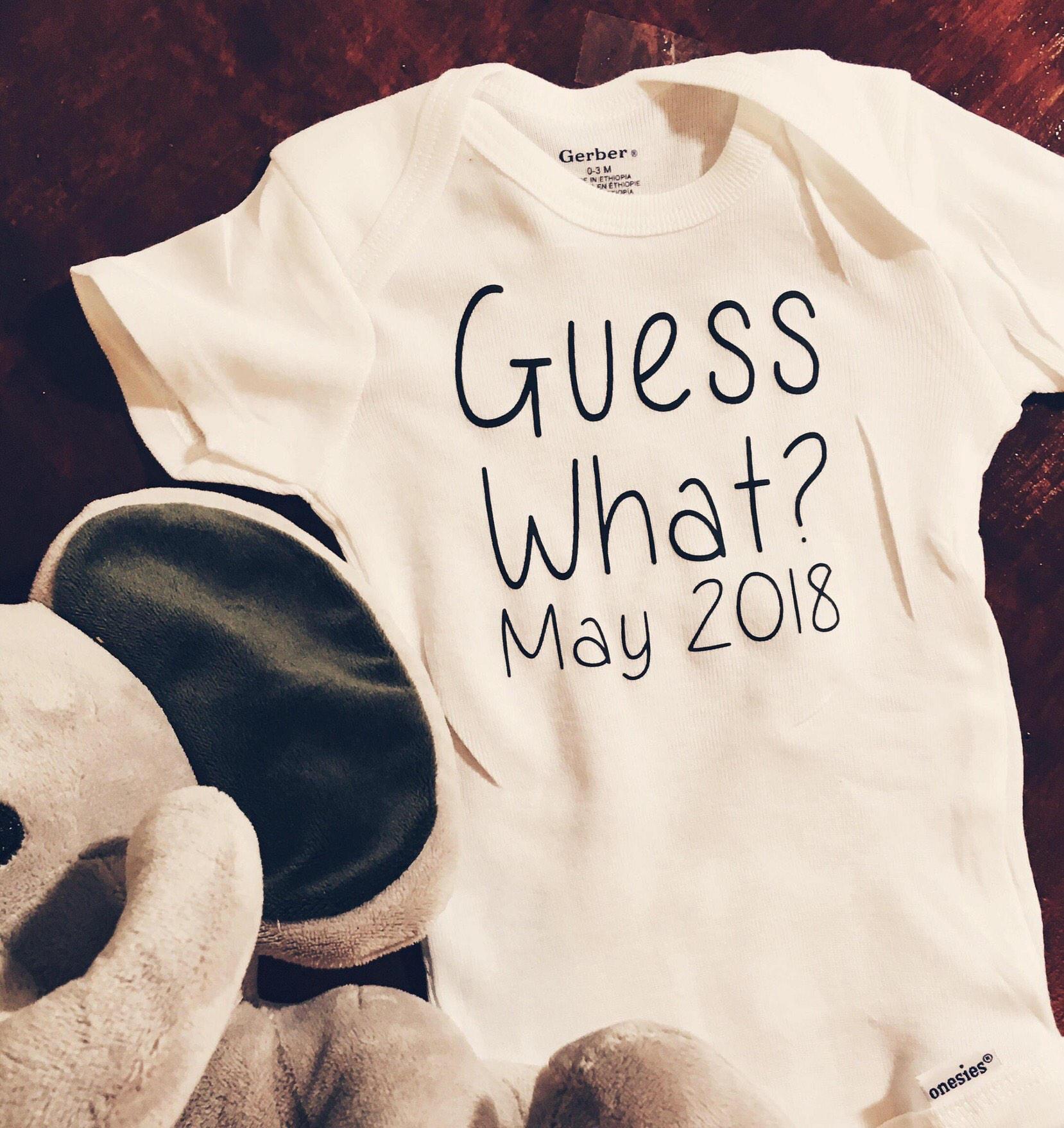 Baby Announcement Onesie Coming Soon Baby AnnouncementPregnancy – Grandparents Baby Announcement