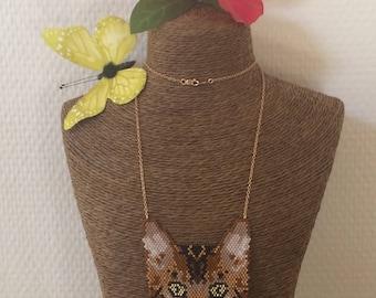Bengal cat necklace • fashion necklace • Bengal cat necklace