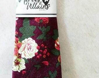 Red floral ties,red skinny tie, ties, bow ties, skinny ties, groomsmen ties, floral ties, wedding bow tie, wool ties, dapper ties, silk tie