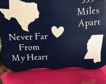 Never Far From My Heart Sign