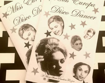 Miss Europa Disco Dancer - Manic Street Preachers Fanzine