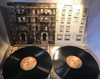 Led Zeppelin Physical Graffiti 2 LP NM Scarce Pressing Kashmir Rock Classic