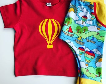 Custom T-shirt, custom clothing, Bright clothing, baby clothing, summer outfit, birthday outfit, children's clothing, custom top