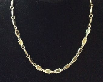Silver Tone Necklace [SKU345]