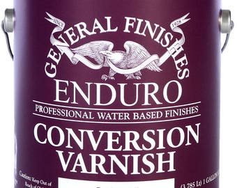 General Finishes Enduro Conversion Varnish WITH Catalyst
