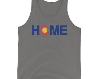 Colorado Flag Home Tank Top