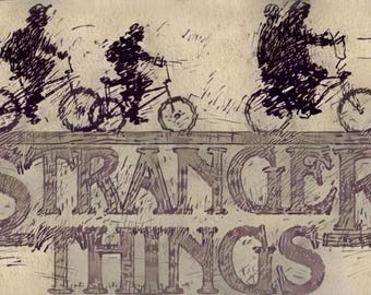 Stranger Things,Stranger Things Poster,Stranger Things Gift,Stranger Things Art,Stranger Things Wall,Stranger Things Bday,Barb,show,stranger